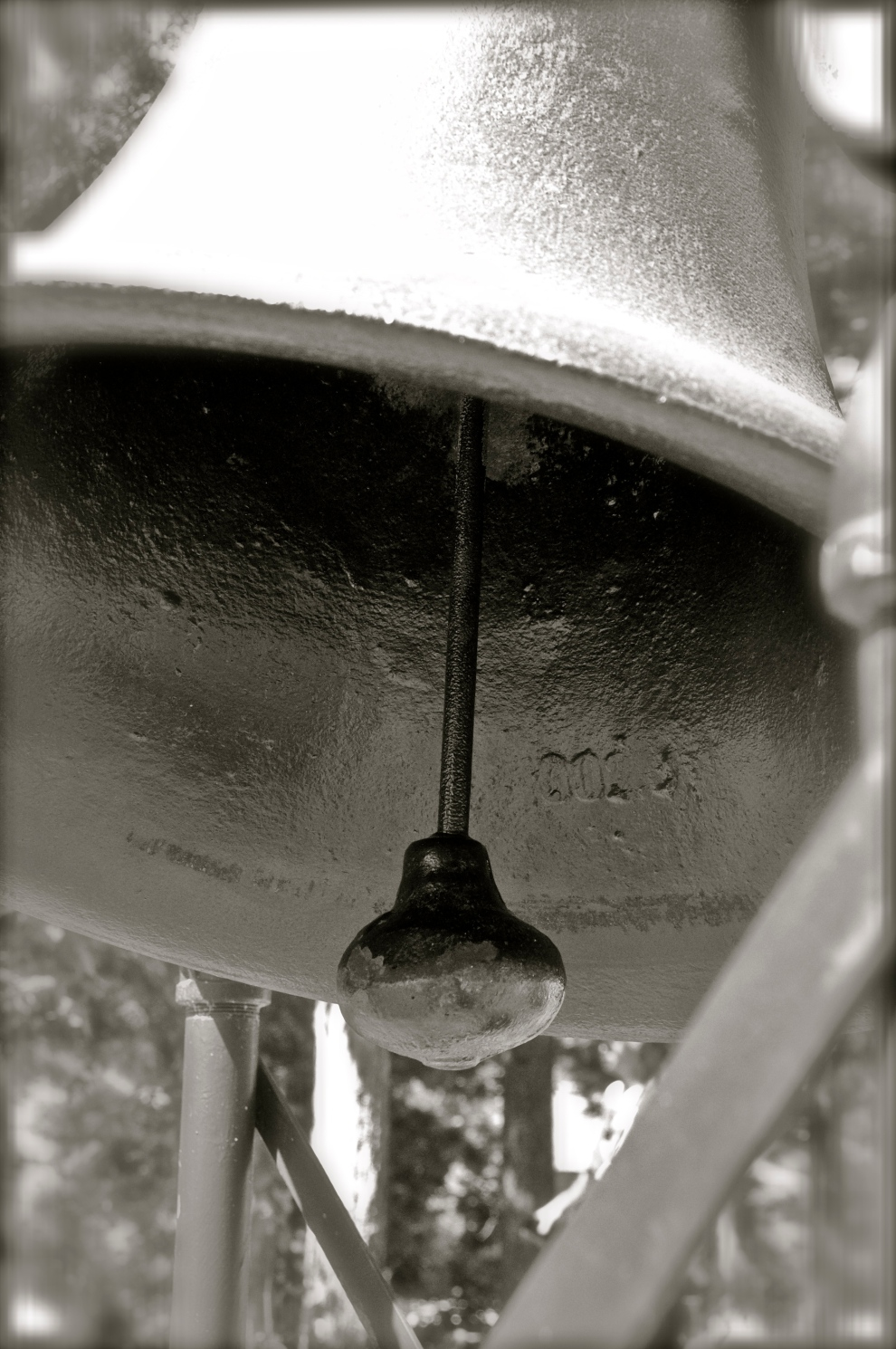 Taken on the Fourth of July 2011, this is actually a camp bell at Interlochen Center for the Arts. DL