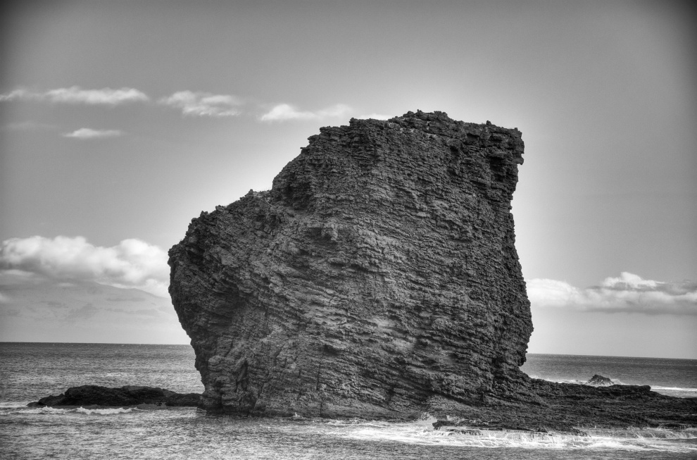 Sweetheart Rock, Manele Bay, Lanai, HI. AS