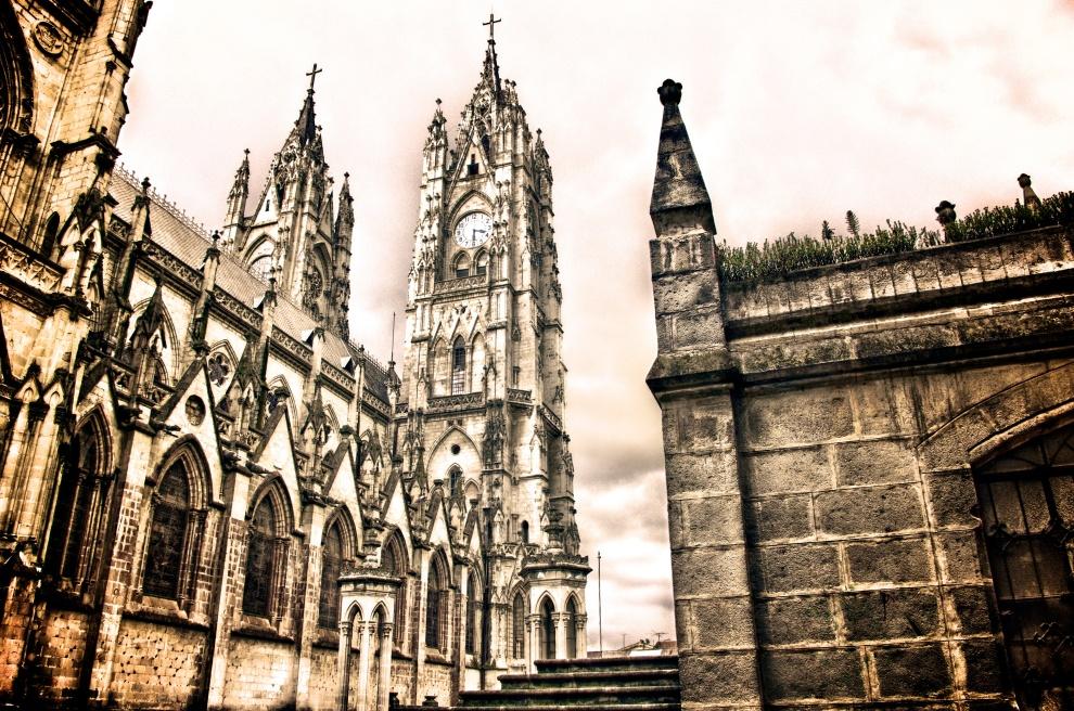 Basílica del Voto Nacional, Quito, Ecuador. AS