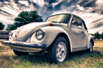 1977 Volkswagen Super Beetle Convertible, Traverse City, MI. AS